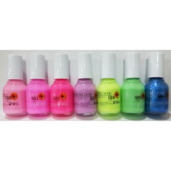 Full range of nail polish