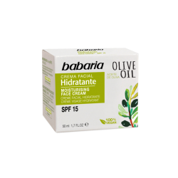 Crema facial Hidratante SPF 15 Aceite de Oliva