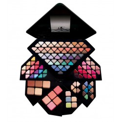 IDC COLOR SET MAQUILLAJE DIAMOND PALETTE 130 COLORES