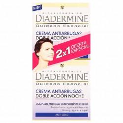 Diadermine Antiarrugas Doble Acción noche 50mlx2