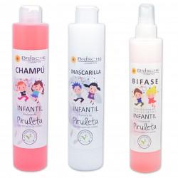 Pack Brische Infantil. Champú + Mascarilla + Bifase
